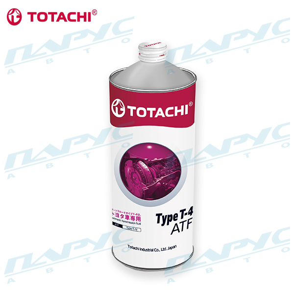 Масло для АКПП и ГУР ATF TYPE T-IV TOYOTA ATF TYPE T-IV, 1л. (упак. 12шт.) TOTACHI 4562374691018
